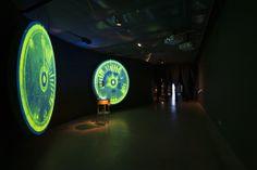 Espacio Fundación Telefónica Exposicion PREMIOS VIDA 2012 | Intervento Museografía