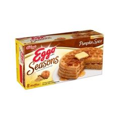 Kellogg's Eggo Seasons Limited Edition Pumpkin Spice Waffles, 8 count... ($2.61) ❤ liked on Polyvore featuring home and kitchen & dining