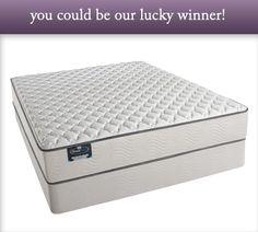 Win a New BeautySleep Mattress Set!