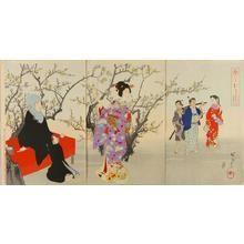豊原周延: February — 二月 - Japanese Art Open Database