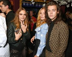 Fancy seeing you here: The 1D singer bumped into rumoured former fling Cara Delevingne