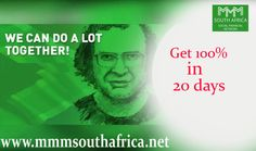 MMM South Africa is an Universal community of Mavrodians is observing for a dependable, sure system with promising prospect. The main goal of MMM South Africa is to unite worldwide management to erect an ideal system that can justify this necessity