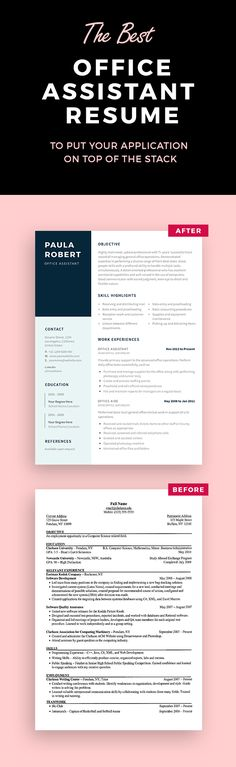 Medical Assistant Resume Template Resume Templates Pinterest - medical assistant resume template