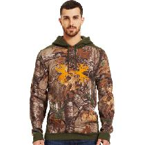 Under Armour Charged Cotton Storm Camo Antler Hoodie