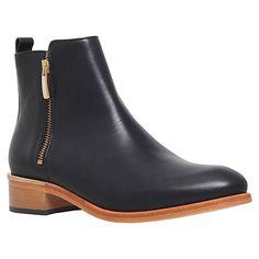 Buy Kurt Geiger Dansey Block Heeled Ankle Boots Online at johnlewis.com