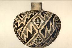 New Mexico -- Circa 1200 A.D. Diameter, 15 inches, 38 cm.