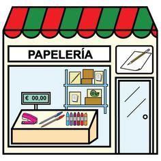 Pictogramas ARASAAC - Papelería.