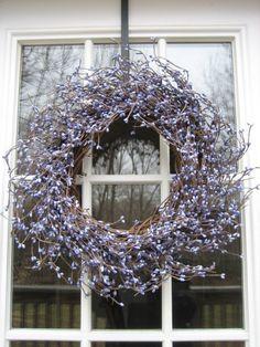 English Lavendar Wreath