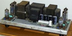 Dynaco ST-35 was an excellent kit made amplifier ... They're still being made.
