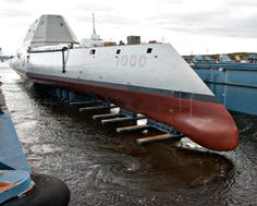 USS Zumwalt DDG-1000 is the US Navy's most technologically advanced ship.