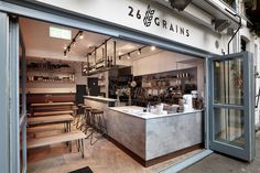 26 Grains restaurant by BLOCK 1: DESIGN London  UK