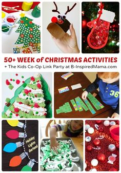 50+ Week of Christmas Activities for Kids