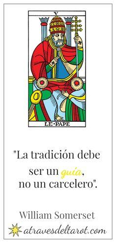 Integrar los Arcanos Mayores del Tarot de Marsella conectándolos con citas célebres. El papa