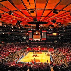 Madison Square Garden - Home of the New York Knicks