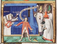 Another illumination detailing castration: Den Haag, MMW, 10 A 11 43r