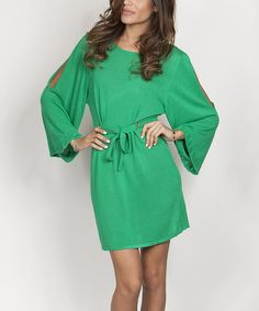 cute green dress for spring