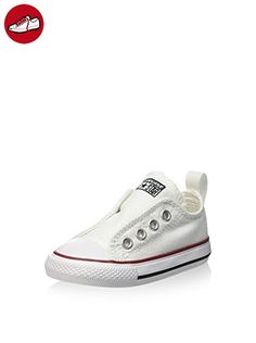CONVERSE 723.232 weißen Babyschuhe Unisex ct einfachen optischen Tränen 26 - Kinder sneaker und lauflernschuhe (*Partner-Link)
