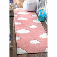 Viv + Rae Lily Cloudy Sachiko Hand-Tufted Pink Area Rug & Reviews | Wayfair Kids Area Rugs, Blue Area Rugs, Purple Marble, Orange Rugs, Modern Area Rugs, Cool Rugs, Latex Free, Mild Soap, Rug Runner