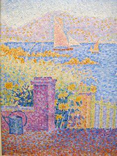 Porta (Saint-Tropez) by Paul Signac (French 1863-1935)