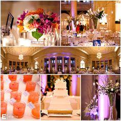callalily wedding center piece