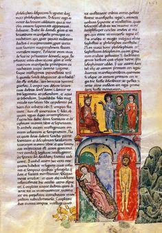 Nebuchadnezzar Dreams Of A Statue | Beatus of Liébana | Las Huelgas Apocalypse | Spain | 1220 | The Morgan Library & Museum