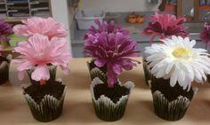 cupcake flores for mom