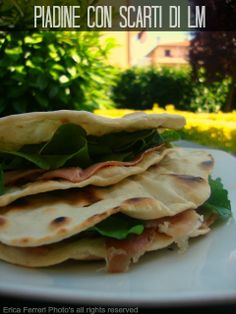 Ogni riccio un pasticcio - Blog di cucina: Piadine morbide con scarti di lievito madre - con video!
