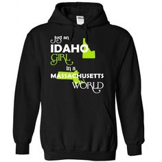 (IDXanhChuoi001) Just An Idaho Girl In A Massachusetts  - #gift ideas for him #grandma gift. BUY TODAY AND SAVE   => https://www.sunfrog.com/Valentines/-28IDXanhChuoi001-29-Just-An-Idaho-Girl-In-A-Massachusetts-World-Black-Hoodie.html?id=60505
