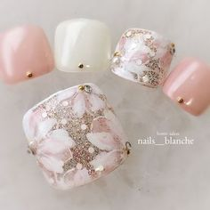 Art Nails – My hair and beauty Pedicure Nail Art, Pedicure Designs, Toe Nail Art, Square Nail Designs, Toe Nail Designs, Nail Ink, Feet Nail Design, Sunflower Nail Art, Pretty Toe Nails