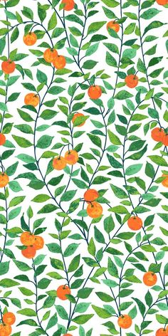 Orange Crush Wallpaper by Nathan Turner for Wallshoppe Tree Wallpaper, Cute Wallpaper Backgrounds, Pretty Wallpapers, Aesthetic Iphone Wallpaper, Wallpaper Roll, Cool Wallpaper, Pattern Wallpaper, Aesthetic Wallpapers, Cool Orange Wallpapers