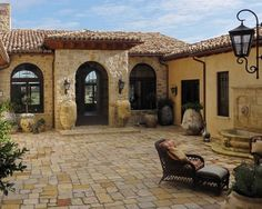 second story spanish style patio terrace architecture - Google Search