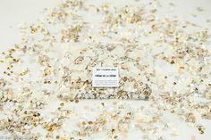 Wedding Confetti  Confetti Bag  Gold Confetti by LolasConfettiShop