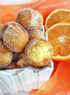 castagnole ricotta e arance (2) Italian Desserts, Pretzel Bites, Crepes, Cake Cookies, Muffin, Pasta, Bread, Breakfast, Cake