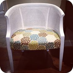 Cane Chair makeover (HoH81)