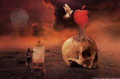 Haris Karagkounidis: Photoshop Manipulation Photography-Death Nature (Ν...