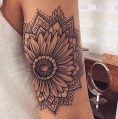 "10.1k Likes, 48 Comments - s u n f l o w e r. (@hippie.sunflower) on Instagram: ""@tattoo.therapy ✨@stevesavart"""