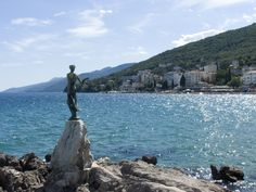 croatoa [ictures | One of the most famous landmarks in Opatija is the statue of the girl ...