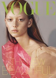 Sara Grace Wallerstedt by Mert & Marcus for Vogue Italia April 2017 Cover