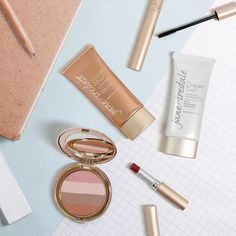 Pack light and stick with these 5 favorites when returning back to #school: Smooth Affair Primer, Dream Tint Tinted Moisturizer mineral foundation, Sunbeam Bronzer for your cheeks and eyes, PureLash Mascara, and PureMoist Lipstick in our newest shade, classic red...Cindy! #collegelife #teacherlife
