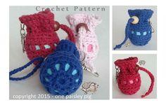eos Lip Balm Holder Pouch - crochet pattern (cute idea, diy, inspiration)