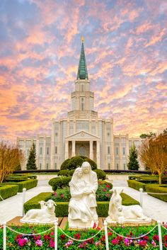 Christmas Eve Houston LDS Temple