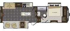 Keystone RV 300RE - NEW floorplan