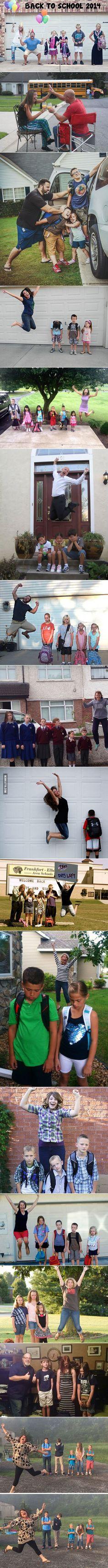 A szülők legboldogabb napja: Az iskola első napja :)