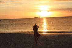 plage de Dickensonbay Antiguas