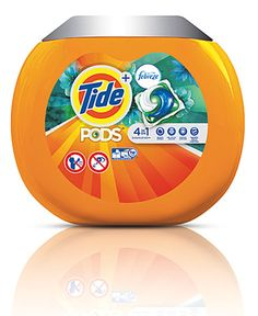 Tide Pods Plus Febreze use 4-in-1 technology with a formula that is twice as compacted as the current 2x Tide Liquid.