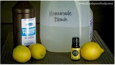 Make Your Own Natural Homemade Bleach