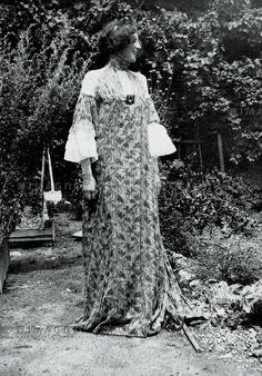 Emilie Flöge at Attersee by Klimt in the summer of 1906