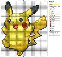 25 - Pikachu by Makibird-Stitching on DeviantArt