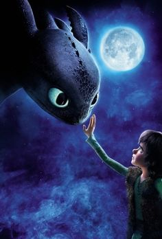 How To Train Your Dragon | I love the strong bond between this two. x