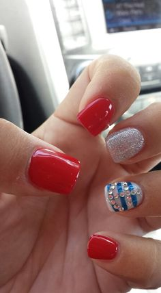 Summer nail design! Oh my I love this! @Christina Childress & Burke
